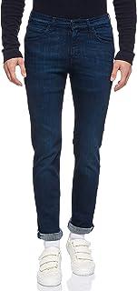 Lee Men's LMSFJMDU Lee Morton Slim Fit Jeans for Men - Dark Used