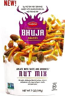Bhuja Snacks Nut Mix 7 oz each (2 Items Per Order)