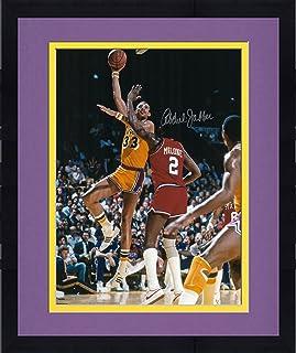 aae26c783c8 Framed Kareem Abdul-Jabbar Los Angeles Lakers Autographed 16