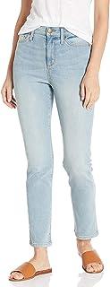 Daily Ritual High-Rise Slim Straight Jean-Base B Mujer