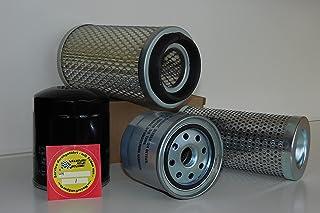 MotorFunSports Filterset geschikt voor Atlas AB 404 R oliefilter brandstoffilter luchtfilter hydraulische filter