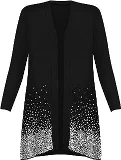 Women's Plus Size Sequin Cardigan