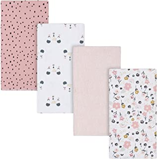 Gerber - Handkerchief - 4-pack Flannel Burp Cloth unisex-baby One size