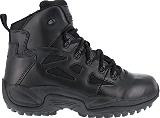 Reebok Men's Stealth 6 Lace-Up Work Boot Soft Toe Black 11.5 D(M) US