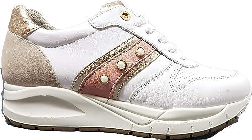 Imac , paniers pour Femme Blanc Blanc Blanc 40 EU  sports chauds