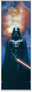 FanPanels Star Wars Darth Vader Authentic Lucasfilm Entertainment Licensed Art. Ideal Wall Art, Game Room Decor and Star Wars Collectible Art. 72 Inches Tall by 24 Inches Wide. No Tools Required.