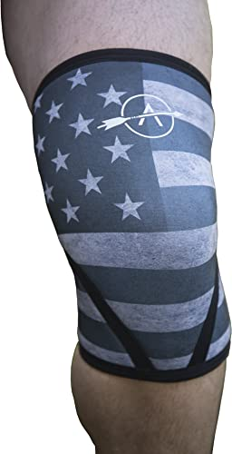 Anomaly Knee Sleeves (Pair) Brace for Crossfit, Weightlifting, Sports and Fitness