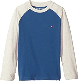 Tommy Hilfiger Kids - Luis-Bex Jersey Long Sleeve Tee (Toddler/Little Kids)