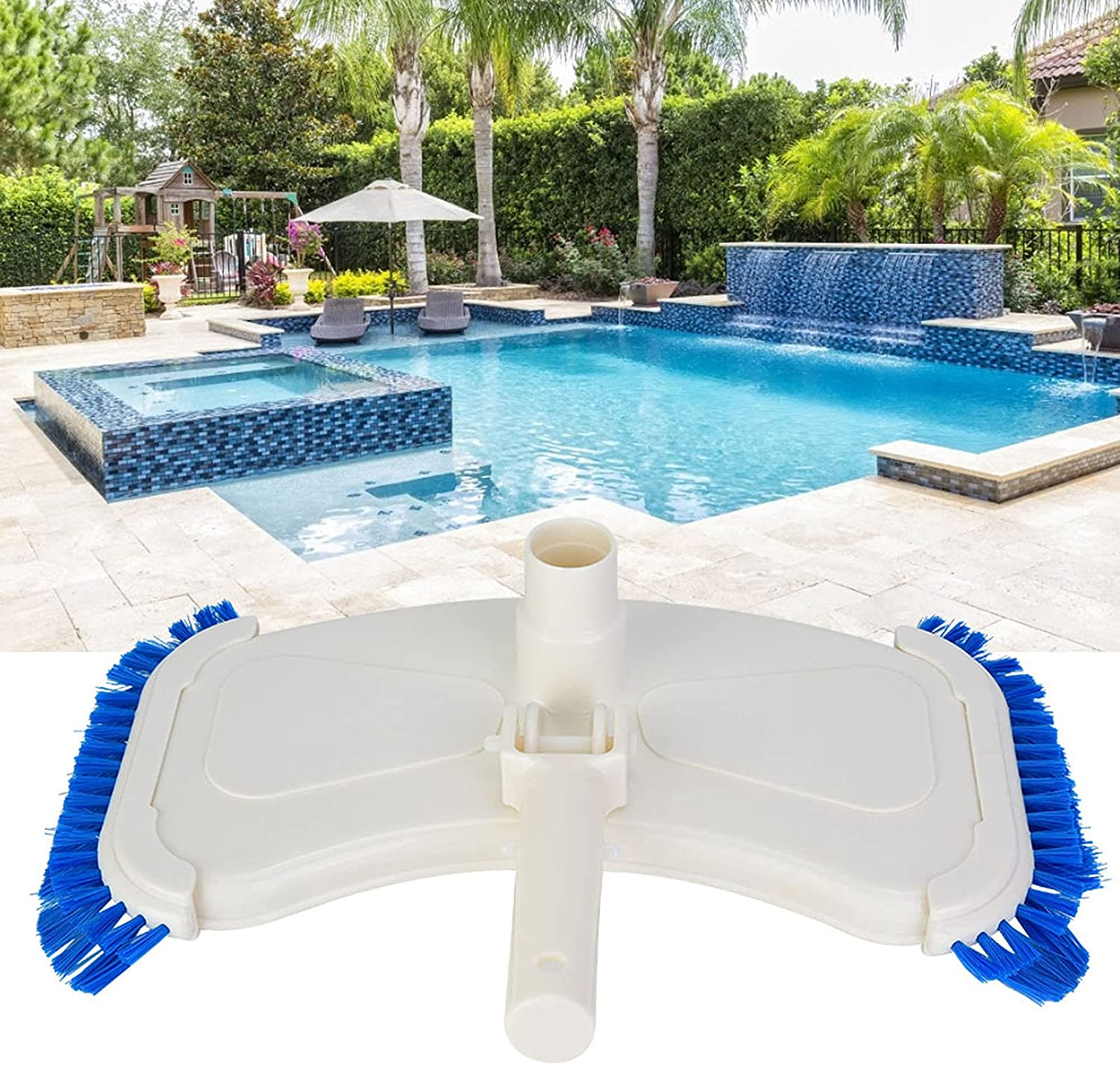 XQAQX Max 48% OFF Pool Cleaning Tool Head Brush Tucson Mall Suction Sw