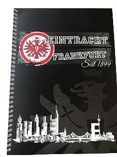 Schreibheft DIN A4 SGE Plus Lesezeichen I Love Frankfurt Eintracht Frankfurt Collegeblock Notizblock