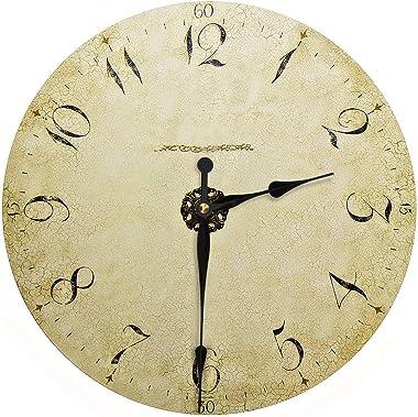 High Torque Quartz Clock Movement Clock Replacement Mechanism with 12 Inch Long Spade Hands for DIY Clock (Black, Shaft Lengt