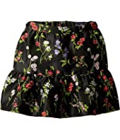 Oscar de la Renta Childrenswear - Floral Ruffle Skirt (Little Kids/Big Kids)