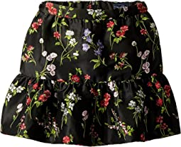 Floral Ruffle Skirt (Little Kids/Big Kids)