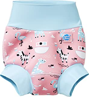 Splash About New and Improved Happy Nappy Swim Diapers (Nina's Ark, 3-6 Months)