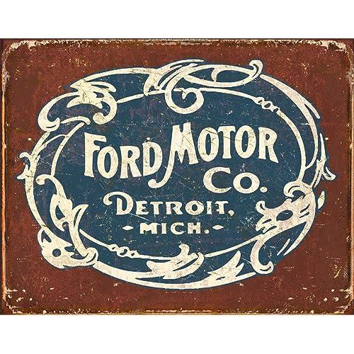 Ford tractor Vintage Retro logo door mat