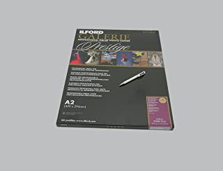 Ilford Galerie Prestige Gold Silk Fibre A 2–310 g/M 2–50 Sheets Ilford Ballpoint Pen with A High-Capacity Ink Cartridge
