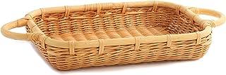 The Basket Lady Wicker Casserole Basket, 3 Quart, Toasted Oat