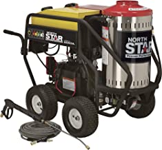 NorthStar Gas Wet Steam and Hot Water Pressure Power Washer – 3000 PSI, 4.0 GPM, Honda Engine