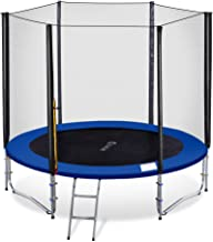 Exacme TUV Approved Heavy Duty Trampoline with Enclousre Net, Spring Cover, Ladder, Include All Accessories, T-Series