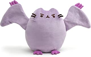 GUND Pterodactyl Pusheen Dinosaur Cat Plush Stuffed Animal, Purple, 9