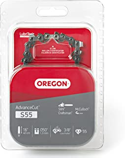 Oregon S55 AdvanceCut 16-Inch Chainsaw Chain Fits McCulloch, Stihl