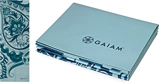 Gaiam Yoga Mat - Folding Travel Fitness & Exercise Mat - Foldable Yoga Mat for All Types of Yoga, Pilates & Floor Workouts...