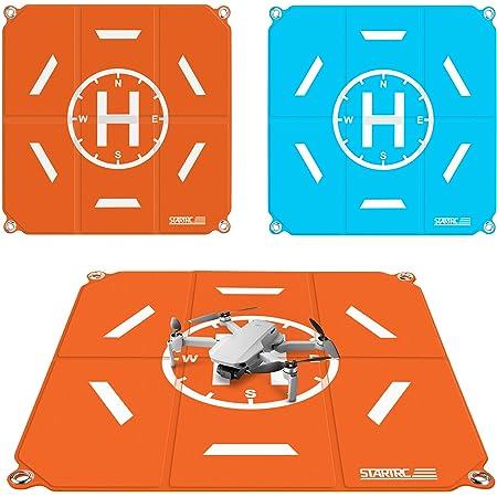 TOMAT Drone Landing Pad Pro Fast-Fold Waterproof Helipad 20 inch(50cm) for DJI Mini 2/Mavic Mini/Mavic Air 2/Air 2S/Mavic 2/FPV/Holy Stone Drone Accessories
