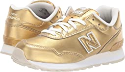 Gold Metallic/White