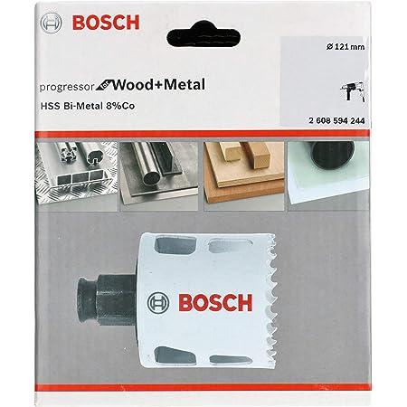Bosch Professional Lochsäge Progressor For Wood Metal Holz Und Metall Ø 121 Mm Zubehör Bohrmaschine Baumarkt