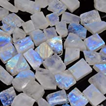 N-12584 Rainbow moonstone gemstone Blue Spectrolite moonstone Natural Rainbow moonstone cabochon Rainbow moonstone stone Druzy 27 Cts