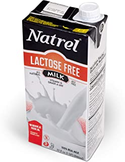 Natrel | Lactose Free Whole Milk | 32 Ounce | Pack of 12 | Shelf Stable Milk | Gluten-Free | Kosher | Non-GMO | No Refrige...