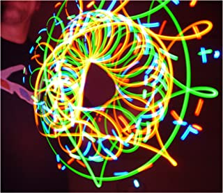 Rob's Super Happy Fun Store LED Orbit - Spinning Orbital Rave Light Show - Dusklight LED Orbital