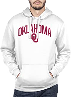 Top of the World NCAA Men's Hoodie Sweatshirt White Arch