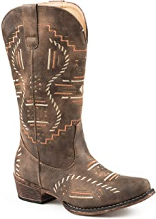 Roper Womens Riley Abstract Casual Western Shoes,