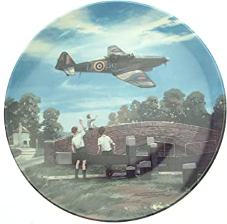 Bradford Exchange Royal Doulton Defiant Home For Tea Heroes of the Sky plate CP665