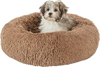 GM Pet Supplies Luxurious Orthopedic Dog Bed | Fluffy Lightweight Bedding Pads for Dogs & Cats | Made from Ultra-Comfortab...