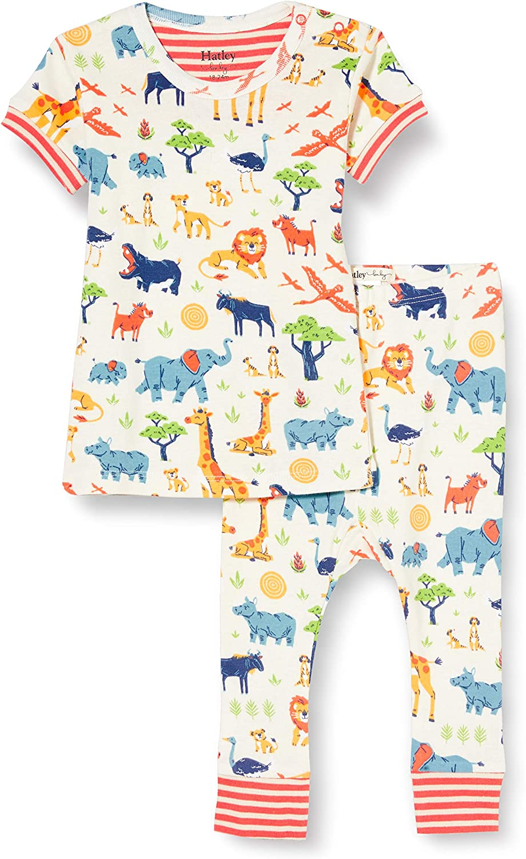 Hatley Baby Boys' Organic Cotton Short Sleeve Pyjama Set