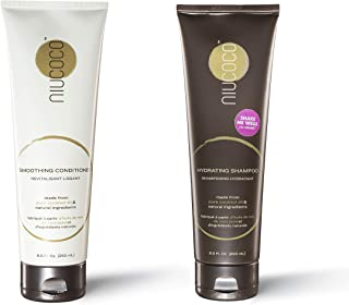 NIUCOCO | All-Natural Coconut Oil Shampoo and Conditioner | 100% Non-Toxic | Bundle Pack (250ml)