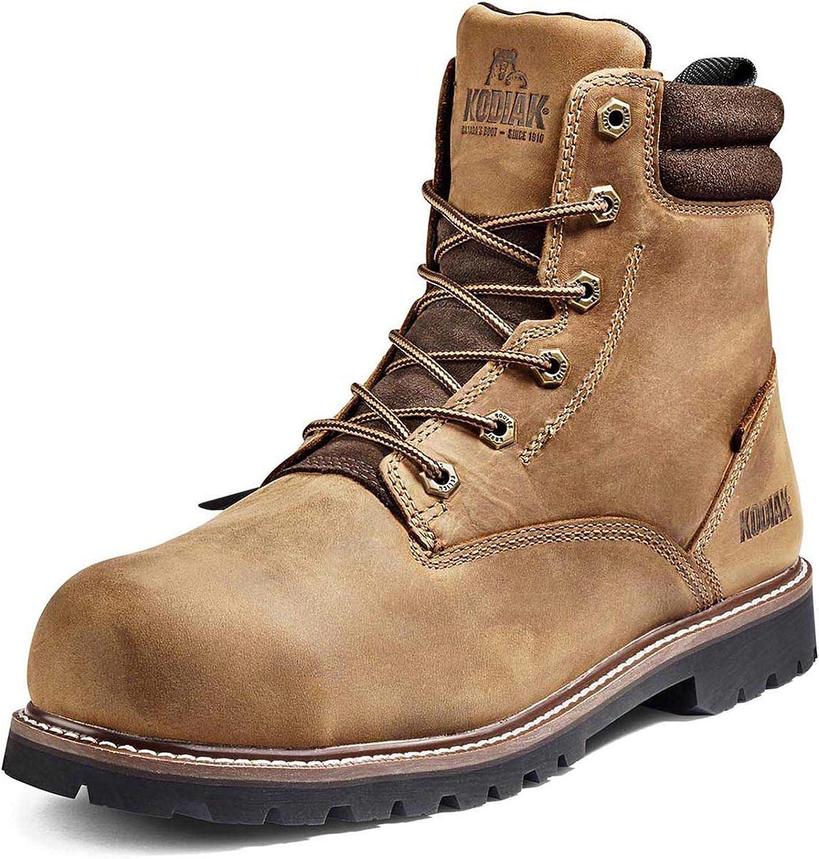Max 81% OFF Kodiak NEW Men's 6-inch McKinney Toe Industrial Composite Waterproof