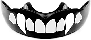 Warrior Mouthguards - Vampire Fang Moldable Mouth Guard with Case for Youth and Adults