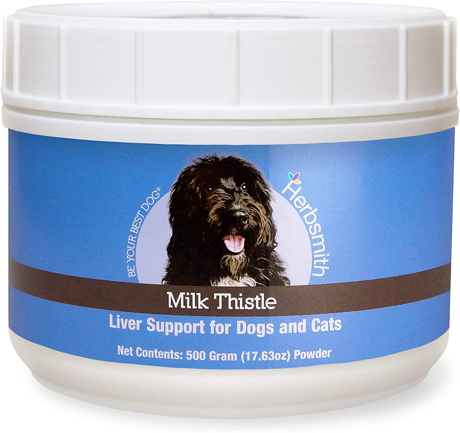 Herbsmith Organic Milk Thistle for Dogs Max 55% OFF Liver Cats – and Su Ranking TOP20