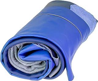 Langlauf Chutes de Cuir XL A31kg Variantes de Tons Bleus, Toutes Les pièces Mind. DIN A3Grand de Schuhbedarf