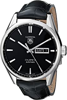 Best tag carrera calibre 5 leather strap Reviews