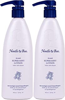 Noodle & Boo Lavender Super Soft Pediatrician d Moisturizing Lotion for Daily Newborn and Baby Care Free of Parabens, Phth...