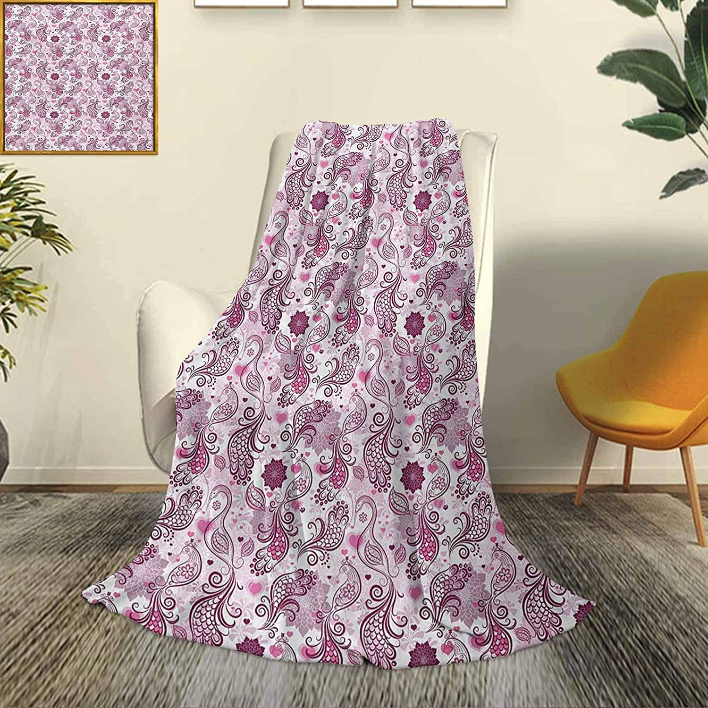 Purple Fluffy Boston Mall plush Product soft comfortable Scales-Swirls- warm blanket