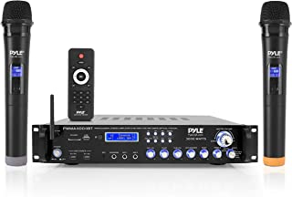 Bluetooth Multi-Channel Hybrid Pre-Amplifier System - 3000W Home Audio Rack Mount Stereo Power Amplifier Receiver w/ Radio...