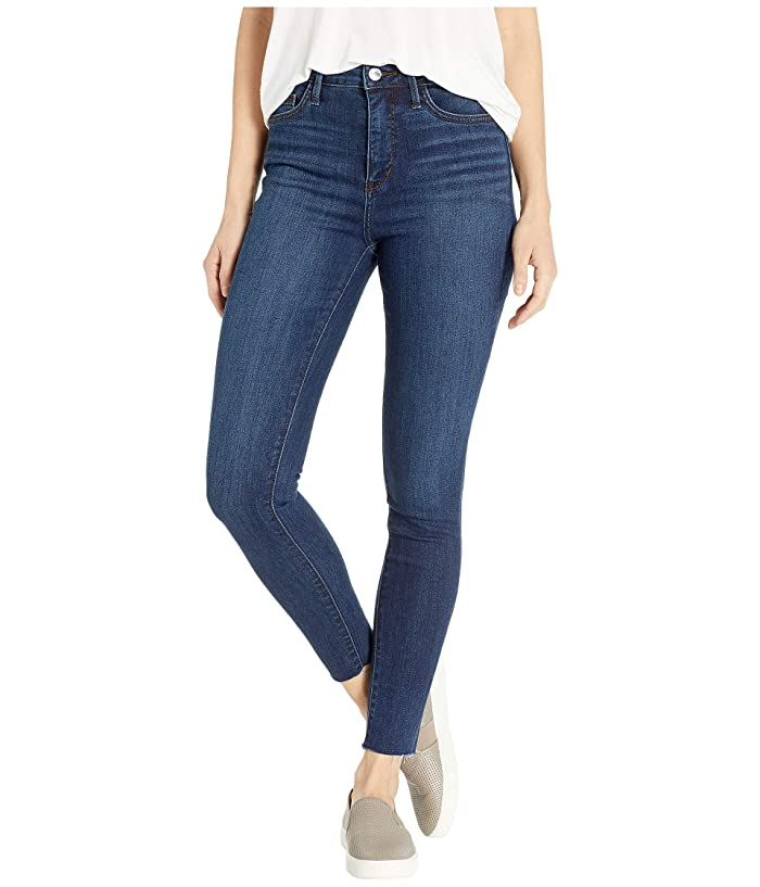 Paige Hoxton Ankle Jeans W Heavy Fray Hem In Alessio