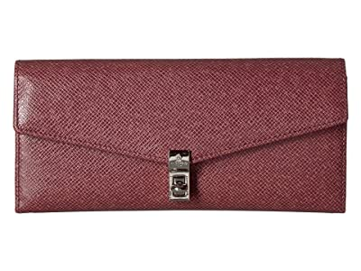 Vivienne Westwood Sofia Credit Card Wallet (Pink) Wallet Handbags