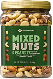 Member's Mark Roasted and Salted Mixed Nuts with Peanuts 34 oz. A1
