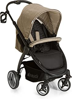 Hauck 148051 Lift Up 4 Wheel Baby Stroller - Black